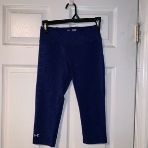Under Armour, cropped dry fit leggings